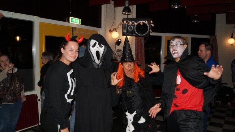 Griezelen en spoken tijdens de Halloweendisco